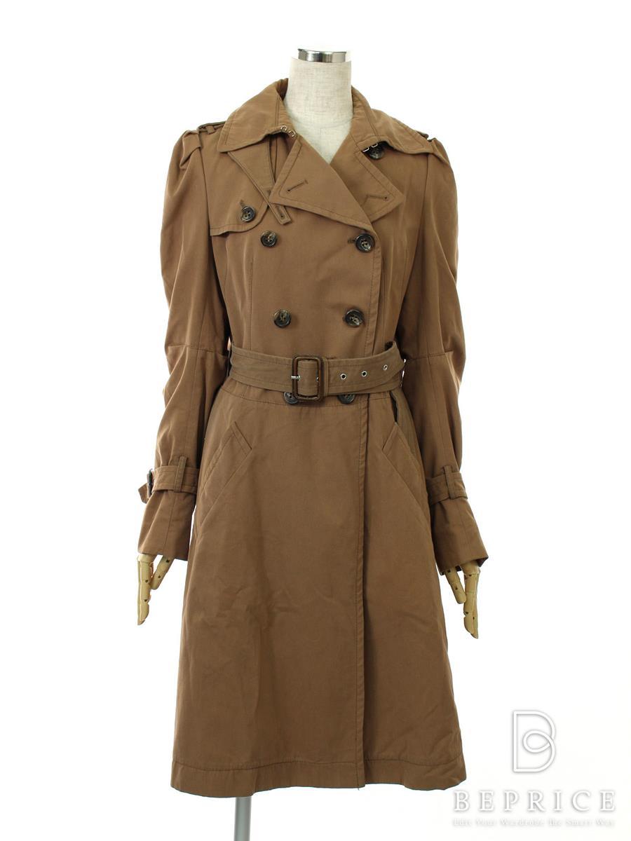 ビーシービージー コート コート トレンチ ブランタグ糸切れ・薄シミあり