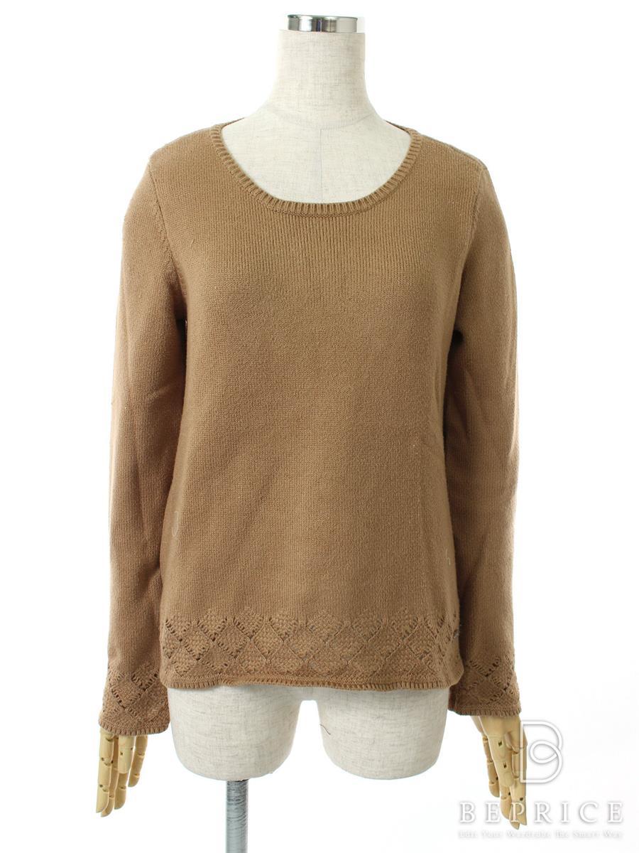 フォクシーニューヨーク ニット セーター トップス キューブシュガーセーター 糸ツレ・毛羽立ちあり 30104