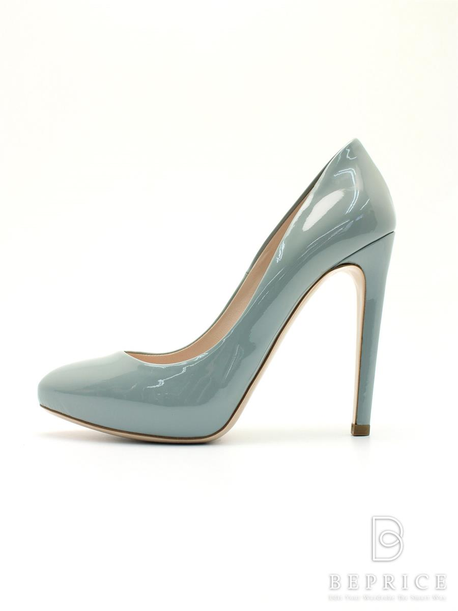 ミュウミュウ 靴 パンプス エナメル