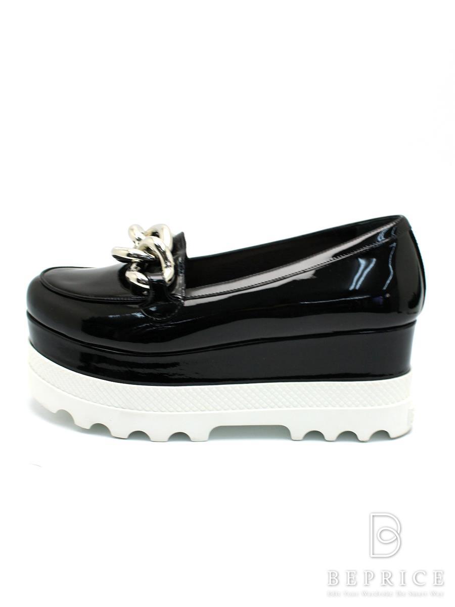 ミュウミュウ 靴 スニーカー パンプス 厚底