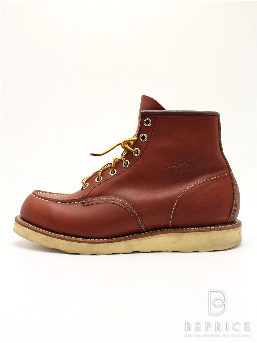 レッドウィング REDWING レッドウィング 靴 ブーツ モックトゥー スレあり
