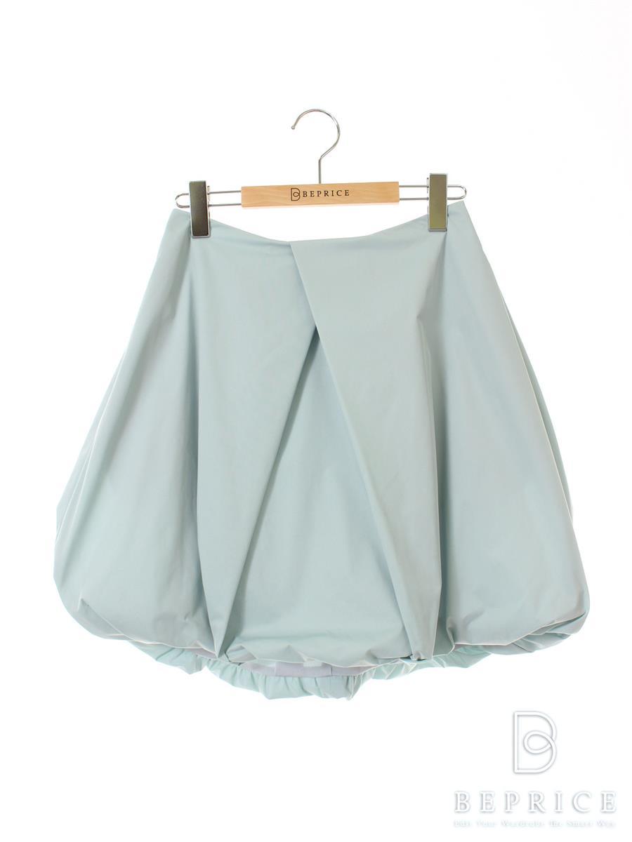 フォクシー 2015年 スカート レイヤードバロン 34106 ブルー