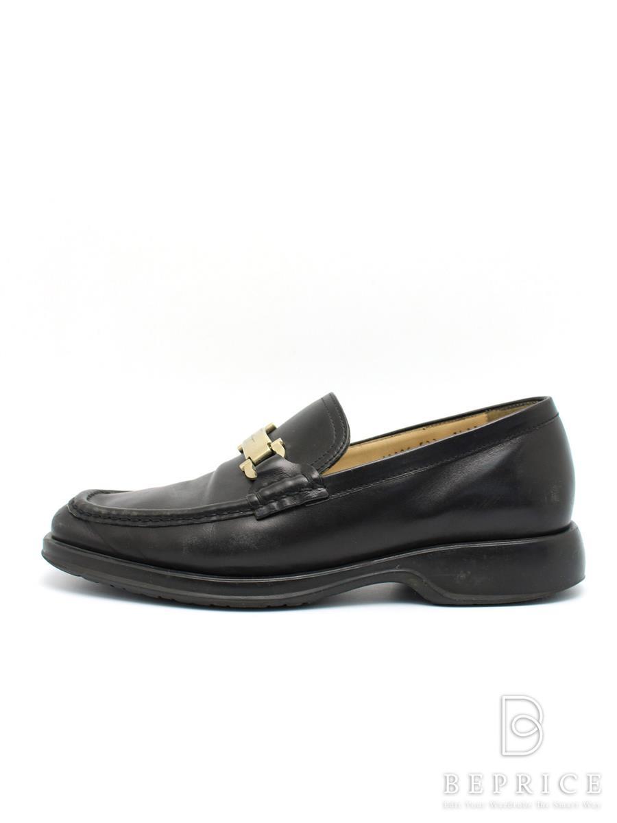 サルヴァトーレフェラガモ 靴 ローファー シューズ ソール等スレ変色あり