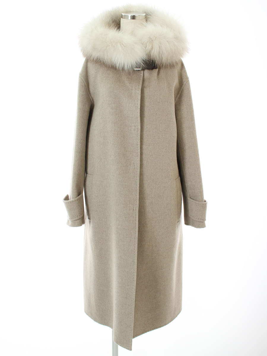 フォクシー コート Knit Coat Fox Soleil 2018年 ベージュ