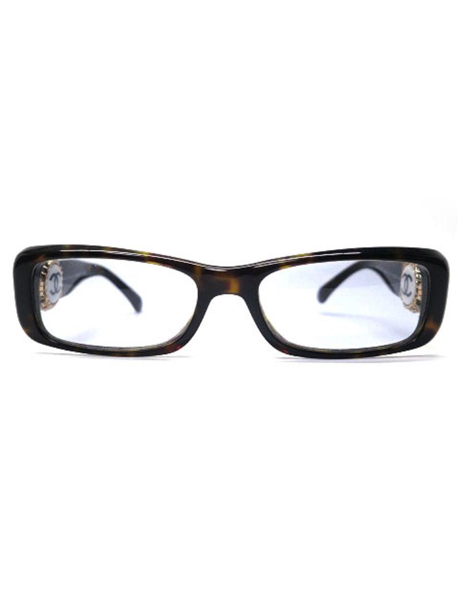シャネル 眼鏡 メガネフレーム ココマーク