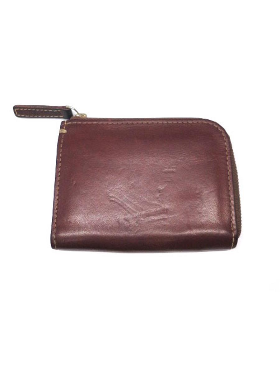 土屋鞄製造所 土屋鞄製造所 財布 コインケース L字ファスナー 目立つスレあり