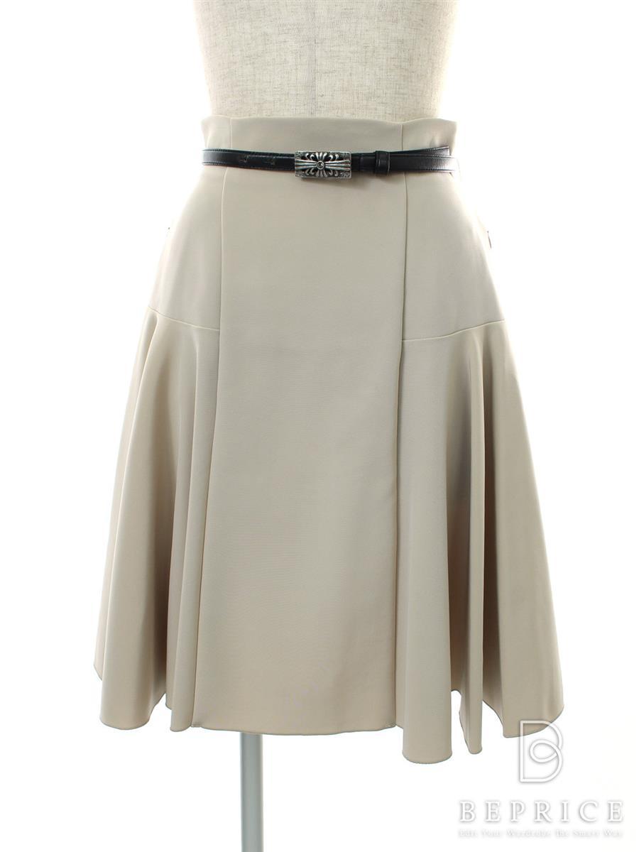 フォクシーニューヨーク スカート スカート フレアー ベルト付 27689