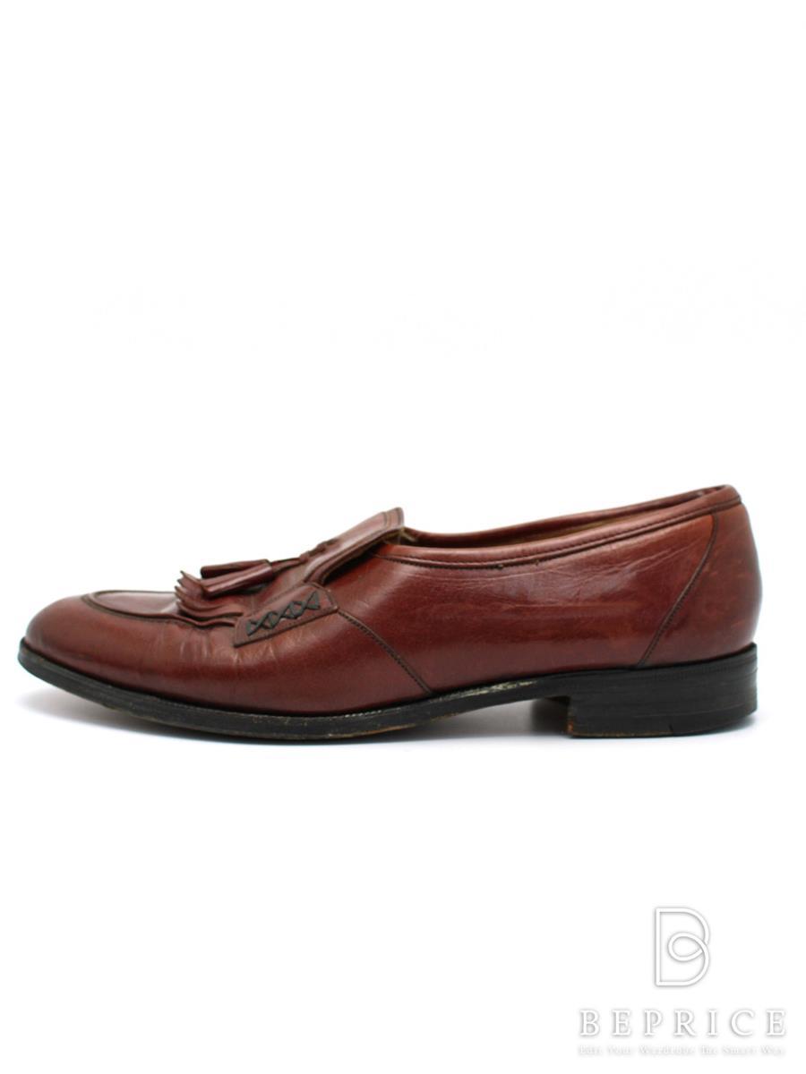 チャーチ ブーツ Church チャーチ 靴 タッセルローファー 履きジワ・薄汚れあり