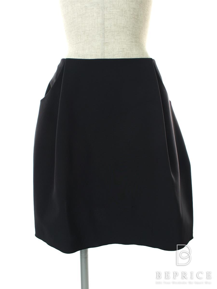 フォクシーニューヨーク スカート スカート イリプスフレアー 薄シミあり 32461