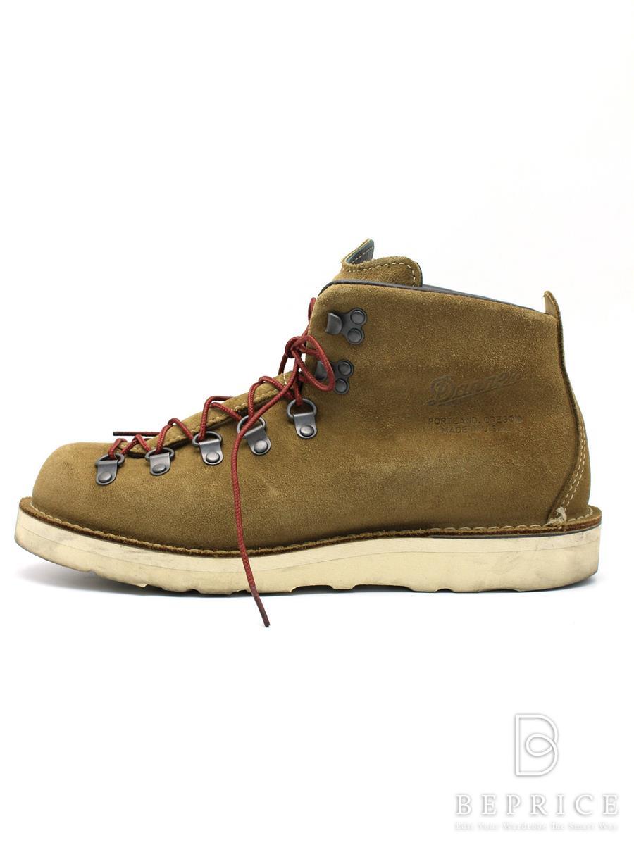 ダナー Danner ダナー 靴 ブーツ マウンテンライト スエード スレ汚れあり