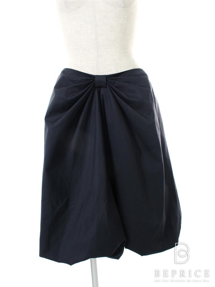 フォクシーブティック スカート スカート リボン コットン ストレッチ 24997