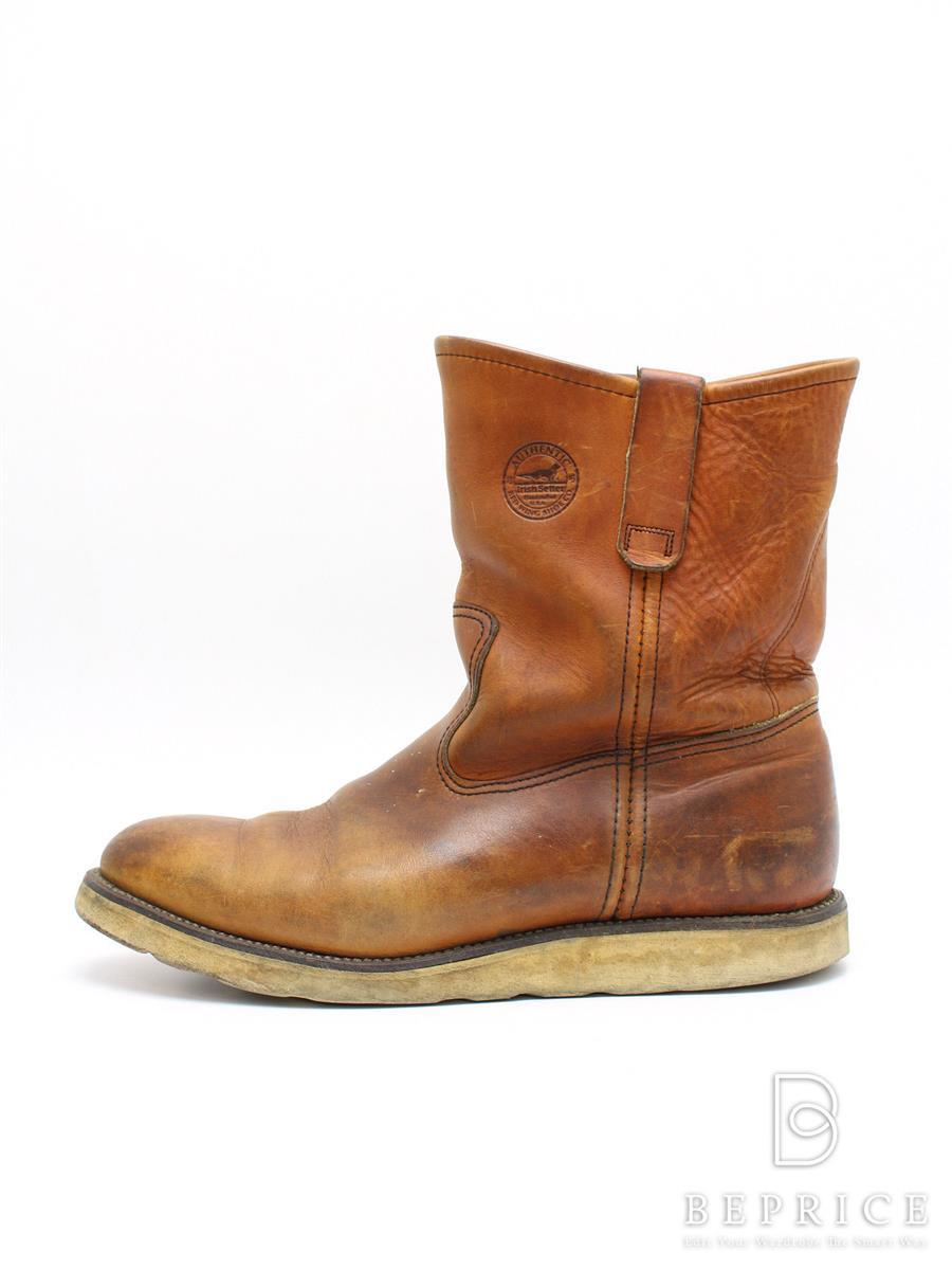 レッドウィング REDWING レッドウィング 靴 ブーツ ペコス 使用感あり