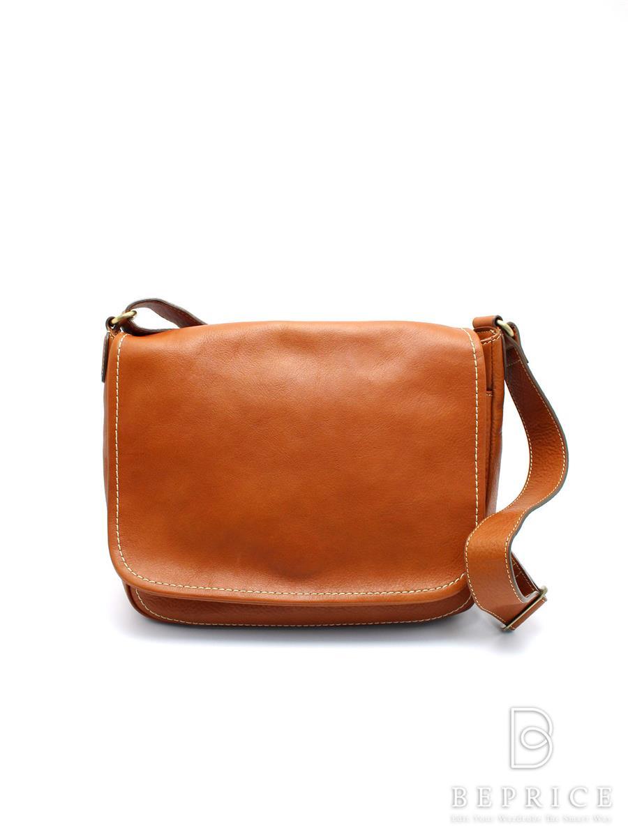 土屋鞄製造所 トーンオイルヌメショルダーバッグ