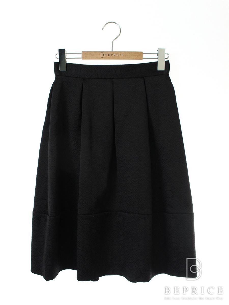 フォクシーニューヨーク スカート スカート ジャカール 糸ツレあり 33965