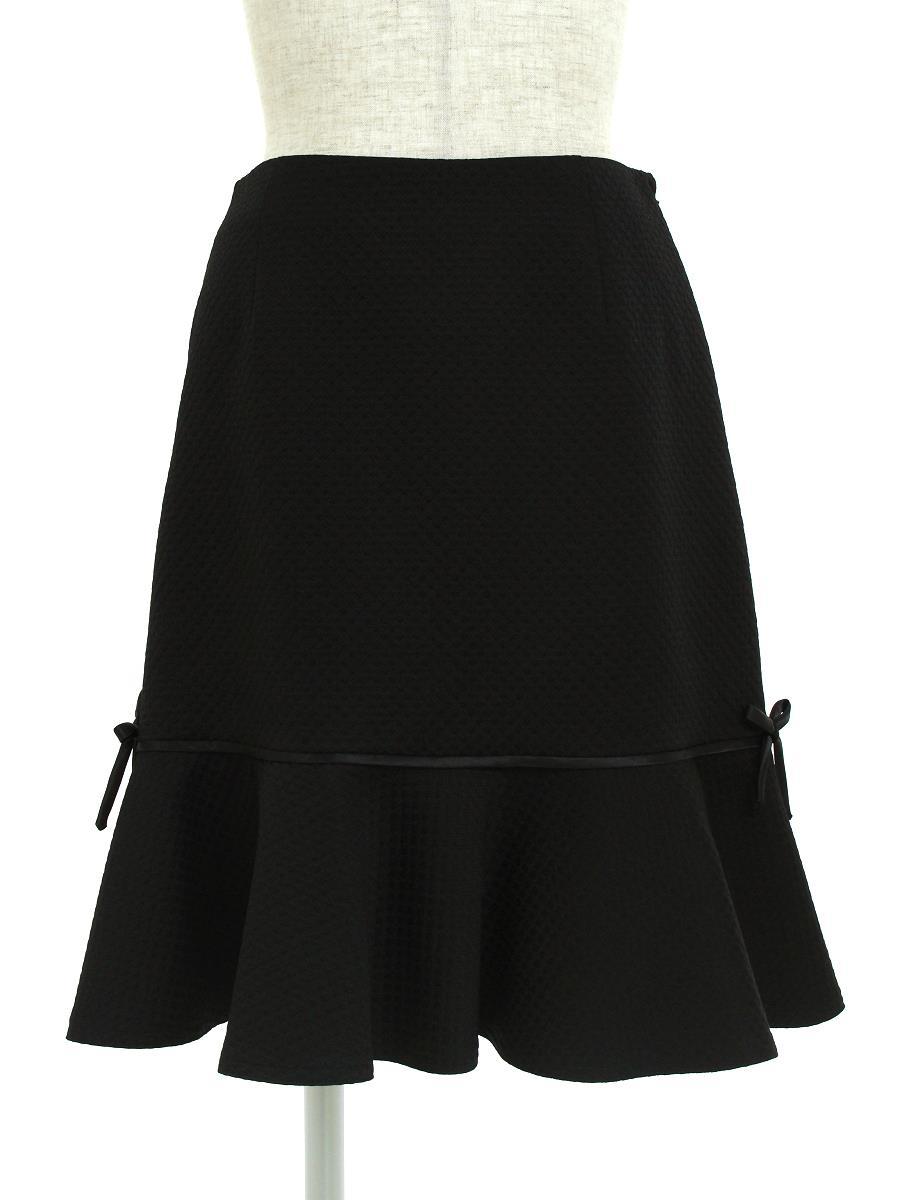 エムズグレイシー スカート スカート ペプラム リボン