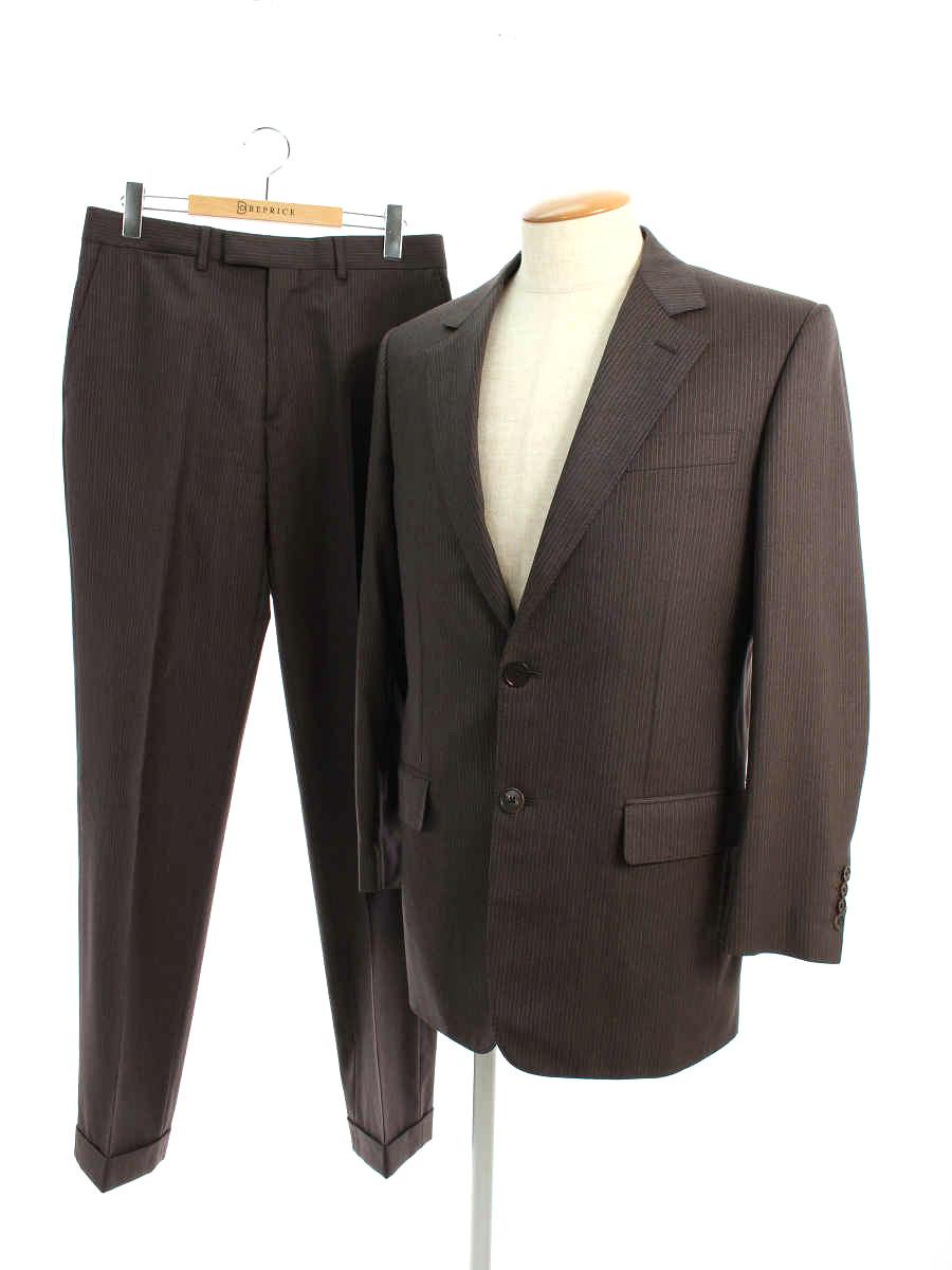 スーツ 2B ブラウン