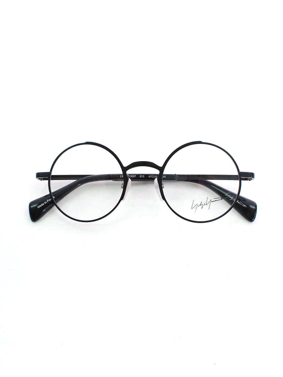 メガネ 丸眼鏡 YY3007 ネイビー