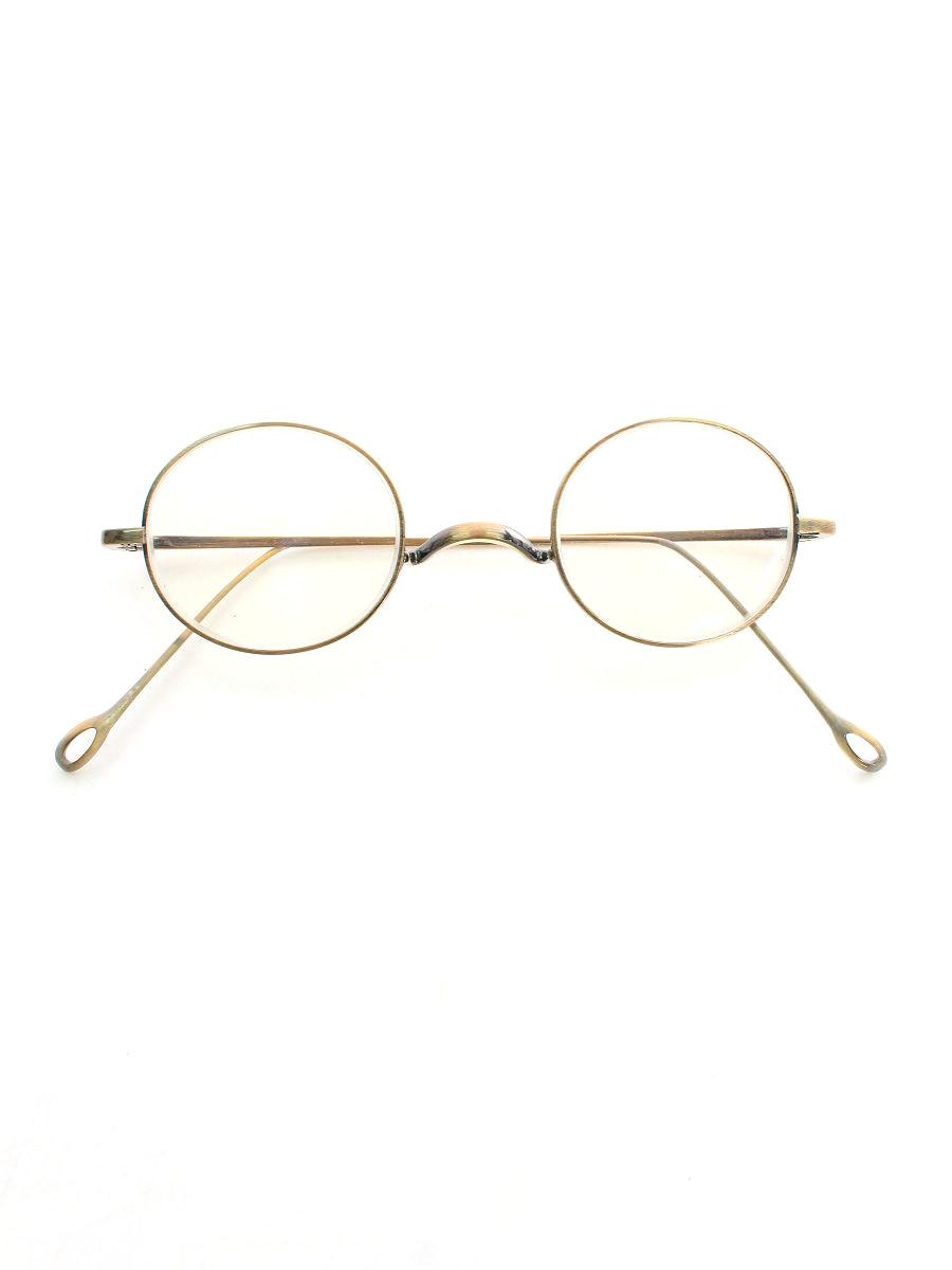 メガネ 丸眼鏡 メタルフレーム VINTAGE T416 ゴールド