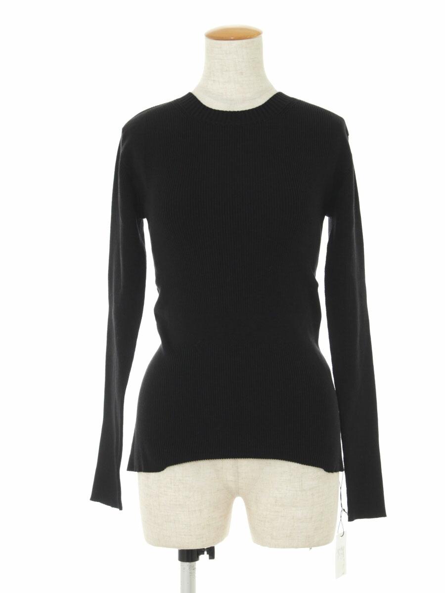 ニット セーター 41604 knit 2019年 ブラック