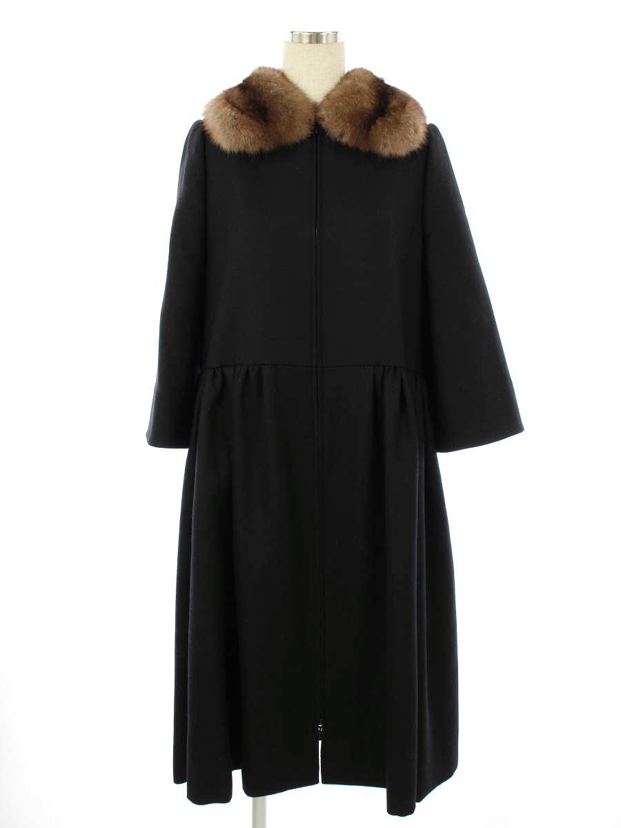 コート 37635 Coat GRACE ロシアンセーブルファー 2018年 ブラックブラック