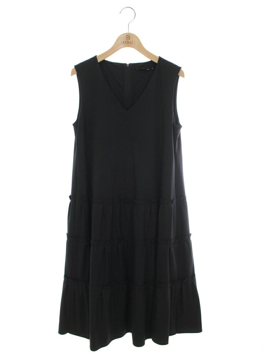 ワンピース 06175 ドレス ミルフィーユ 2020年 ブラック