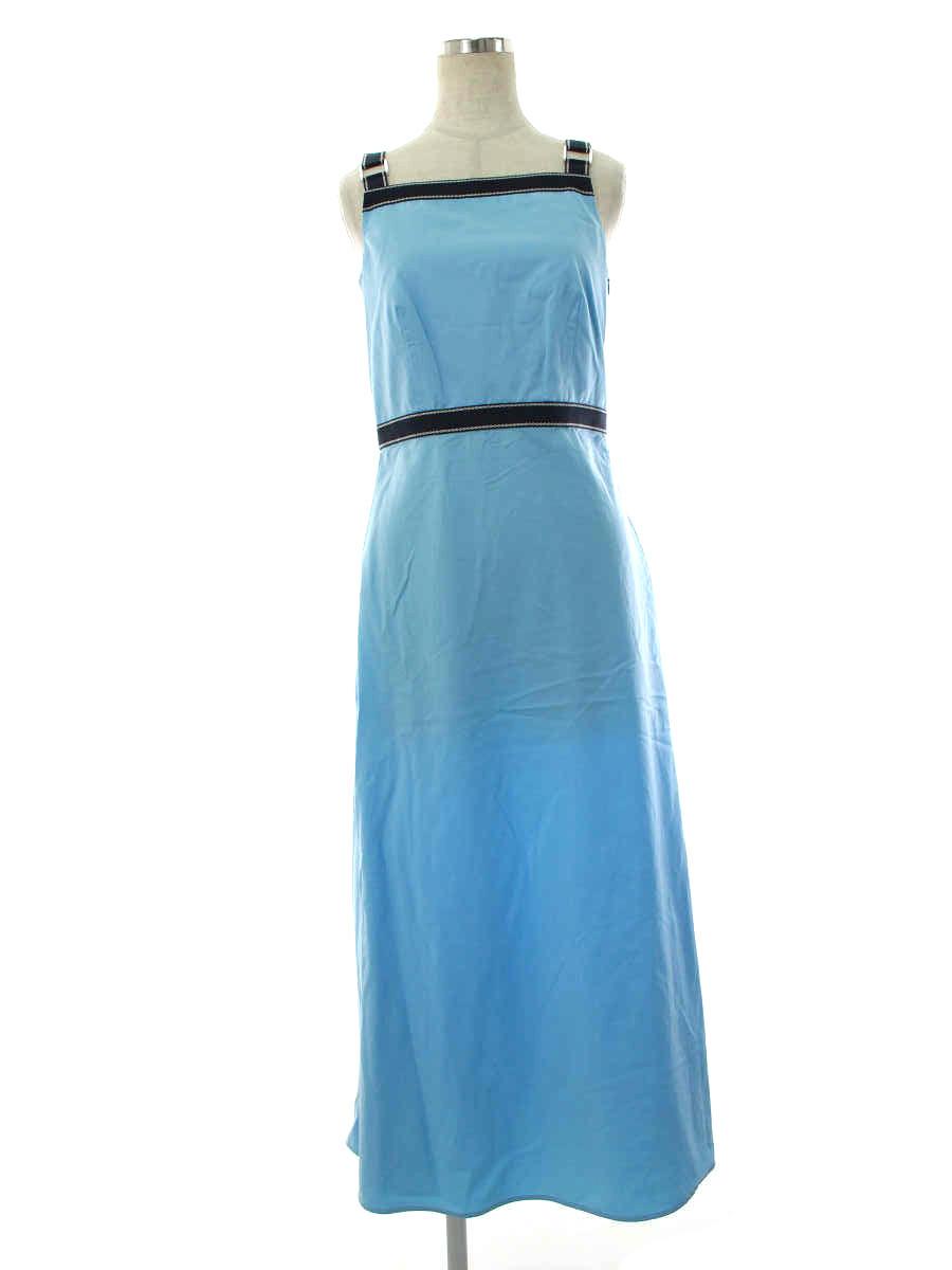 ワンピース ドレス ライトブルー