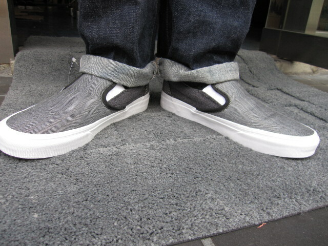 e1f620823d8 ... j. crew classic slip on. Three types of upper fabric with j. crew seems  to be fashionable by note models. Is a better fit good in skinny Chino