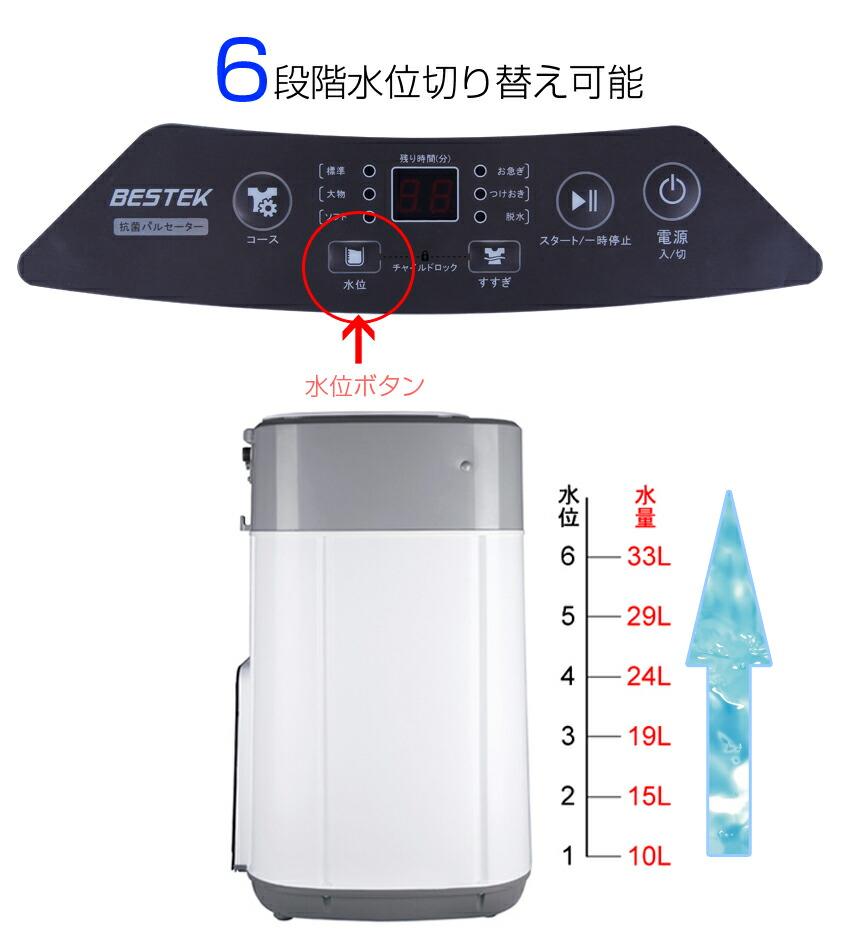 洗濯機 3.8kg