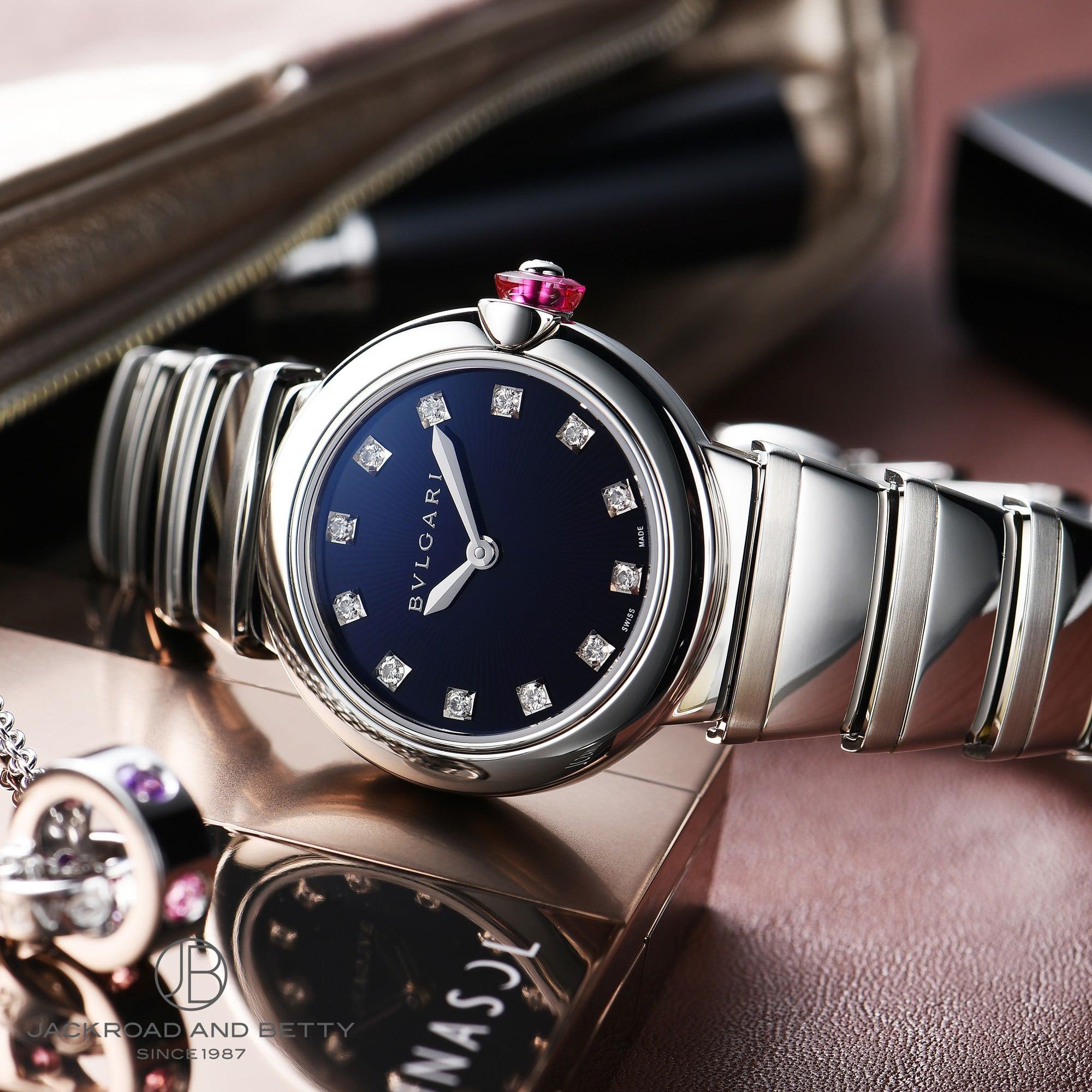 abed175fbf67 ブルガリ BVLGARI ルチェア LU28C3SS/12 【新品】 時計 レディース:ベティーロード 【腕時計専門店】 - 56dee -  anmima.sk