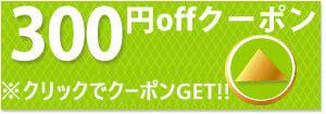 美健ショップの対象商品ですぐに使える300円クーポンです