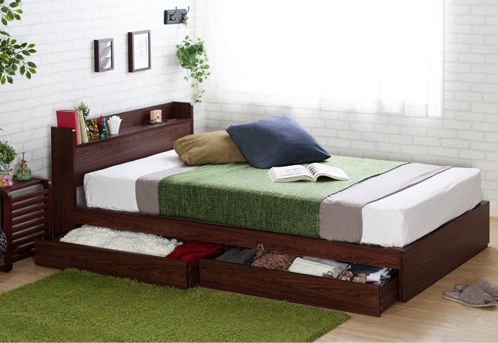 木目 ベッド