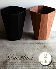 Octagonal dust box 【2color】