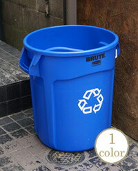 BRUTE  UTILITY RECYCLE CONTAINER 75.7L Φ495×H581mm