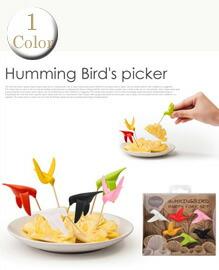 HUMMINGBIRD PARTY FORK SET 6色セット