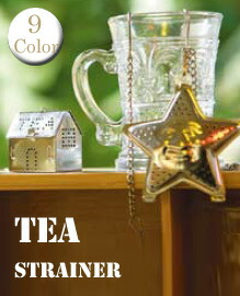 tea strainer&infuser 【9variation】