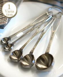 Stainless measuring spoon set of 5 DULTON