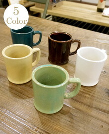 REGULAR MUG 【5color】