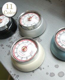 Color kitchen timer with magnet 【10color】