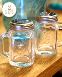 Mason Jar Salt&Pepper Shakers BALL
