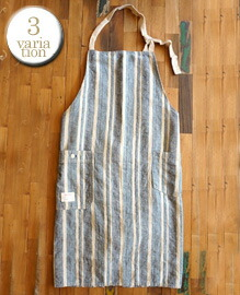 West Side Normal Apron 【3color】