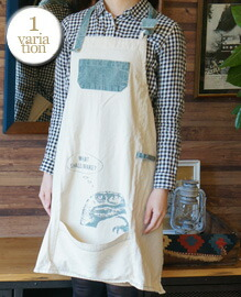 AND PACKABLE APRON DINOSAUR 約80×80 cm