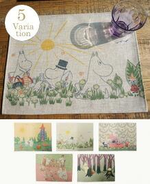 Moomin Luncheon Mat 【5variation】
