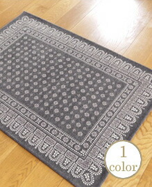 flower bandanna rug  140×100cm 【1color】