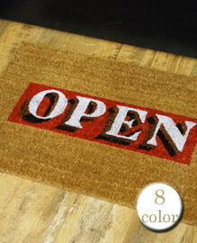 Lowis Industry Coir Doormat W70×H45cm 【8color】