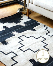 NATIVE RUG(A)BK  120x180cm 【1color】