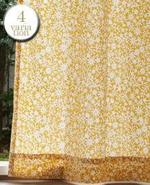 キリエコバナ(W100×H135cm)ドレープカーテン 【4variation】