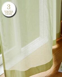 Sherry(W100×H176cm)レースカーテン 【3variation】