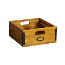 SOLID WOOD BOX (M) 【2variation】