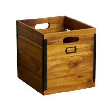 SOLID WOOD BOX (L) 【2variation】