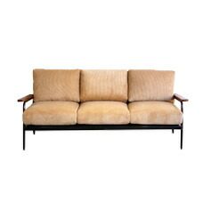 MADERA IRON SOFA 3P 【2variation】